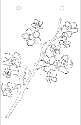 Blossom Stencil - Art Anthology