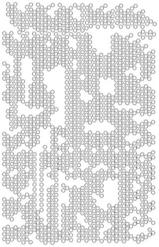 Dot Matrix Stencil - Art Anthology