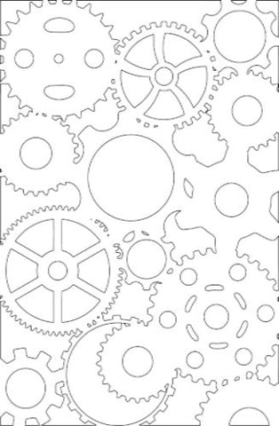 Mechanical Stencil - Art Anthology