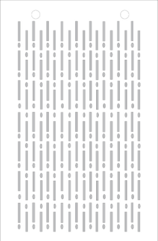 Morse Code Stencil - Art Anthology