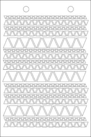 Triangular Stencil - Art Anthology