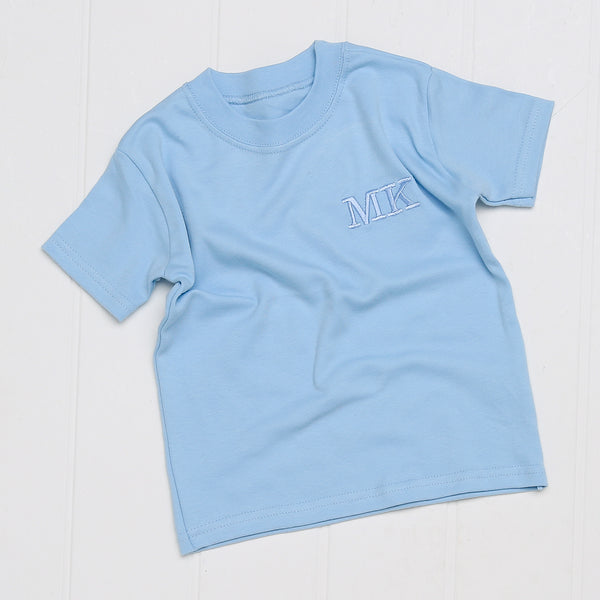 Personalised Embroidered T-shirt - Mini Kings & Queens