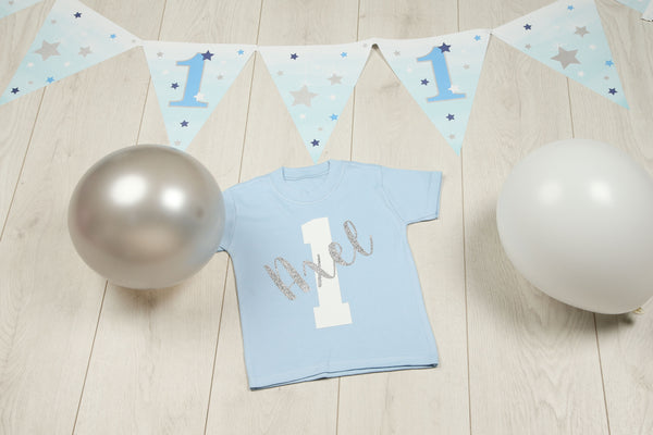 Boys 1st Birthday T-shirt - Mini Kings & Queens