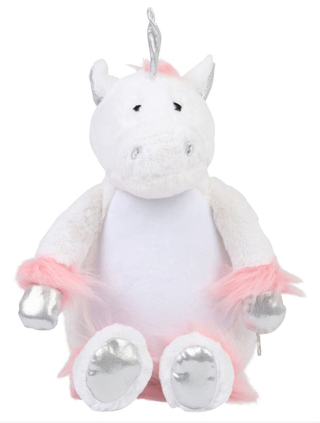 Personalise Your Own Large Unicorn Teddy - Mini Kings & Queens