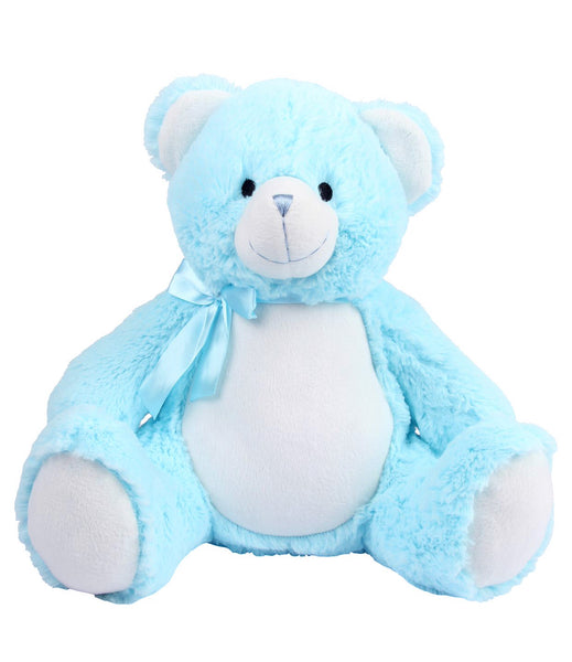 Personalise Your Own Baby Blue Bear Teddy - Mini Kings & Queens