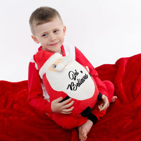 Personalised Believes Santa Teddy - Mini Kings & Queens