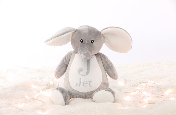 Personalised Large Elephant Teddy - Mini Kings & Queens
