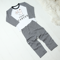 Personalised Little Boo Halloween Pyjamas