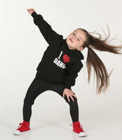 I Love Dance Hoodie - Mini Kings & Queens