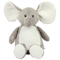 Personalise Your Own Large Elephant Teddy - Mini Kings & Queens