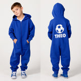 Personalised Football Onesie 3-4y - 13y - Mini Kings & Queens