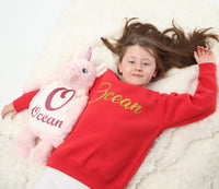Personalised Unicorn Hot Water Bottle Cover - Mini Kings & Queens