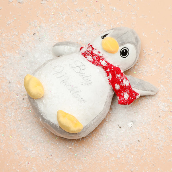 Personalise your own mini print me penguin teddy