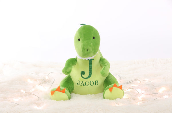 Personalised Large Dinosaur Teddy - Mini Kings & Queens