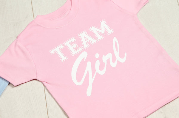 Team Girl T-shirt - Mini Kings & Queens