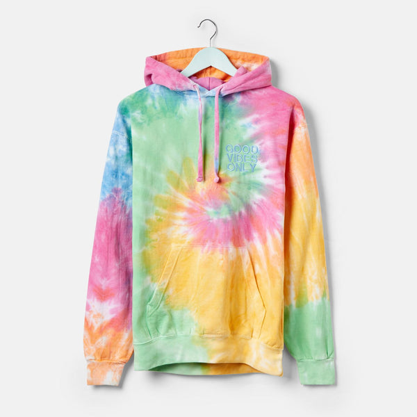 MKQ Good Vibes Only Eternity Tie Dye Hoodie