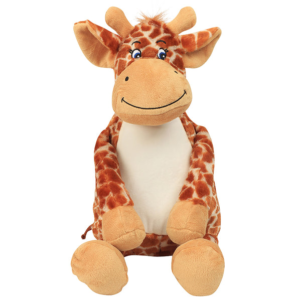 Personalised Your Own Large Giraffe Teddy - Mini Kings & Queens