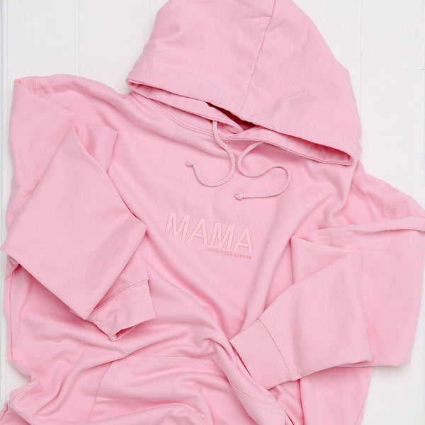 Baby Pink MKQ MAMA Hoodie - Mini Kings & Queens