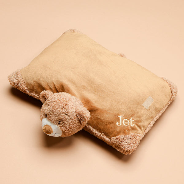 Personalised Snuggly Bear Pillow