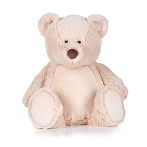 Personalise Your Own Brown Bear Teddy - Mini Kings & Queens