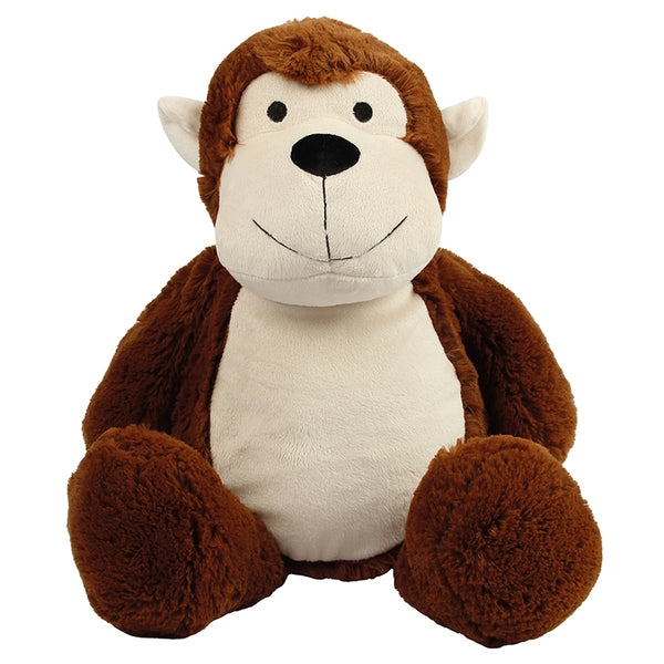 Personalise Your Own Large Monkey Teddy - Mini Kings & Queens