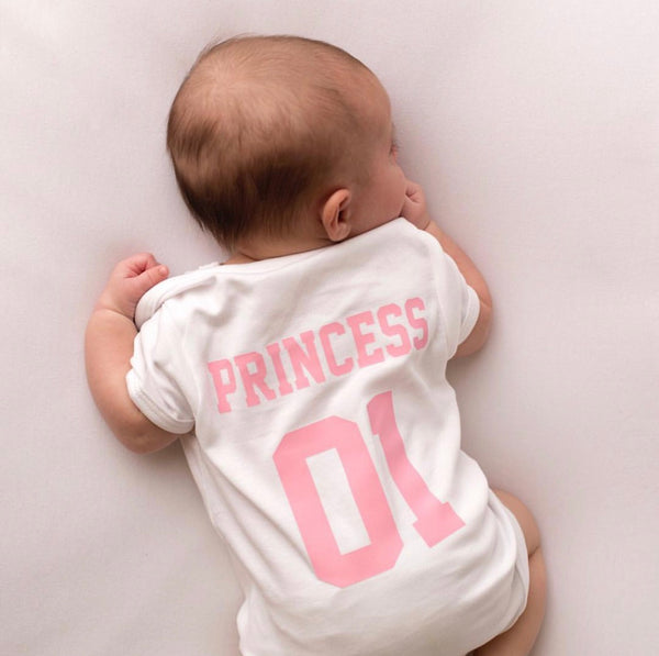 Personalised Royal Princess Baby Vest - Mini Kings & Queens