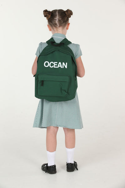 Personalised Bottlegreen School Backpack - Mini Kings & Queens