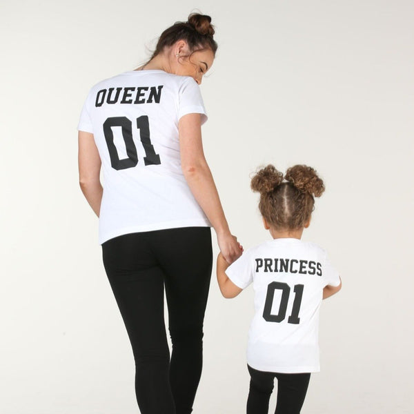 Royal Family Tshirt - Mini Kings & Queens