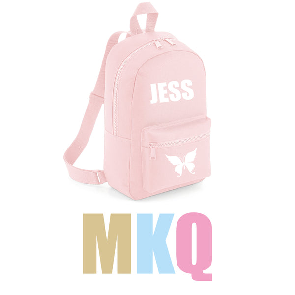 Personalise Your Own Mini Backpack