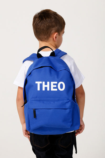 Royal Blue Backpack - Mini Kings & Queens