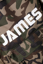 Personalised Camo Maxi Backpack - Mini Kings & Queens
