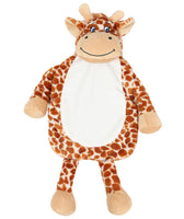 Personalised Giraffe Hot Water Bottle Cover - Mini Kings & Queens