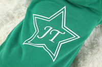 Personalised Kids Green Star Onesie - Mini Kings & Queens