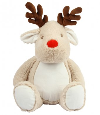 Personalise Your Own Large Reindeer Teddy - Mini Kings & Queens