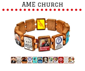 Sample - AME Church (12 tile) Bracelet