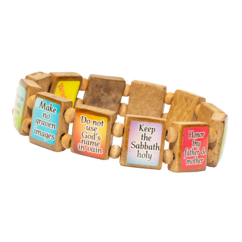 10 Commandments (12 tile) - Fundraising Bracelet