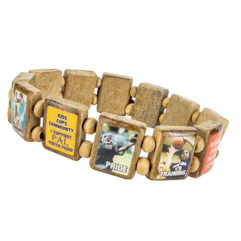 Sample - Police Athletic League (12 tile) Bracelet