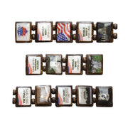 Honor Flight (HF 14 tile) - Fundraising Bracelet