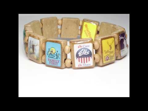 Sample - ELKS (12 tile) Bracelet