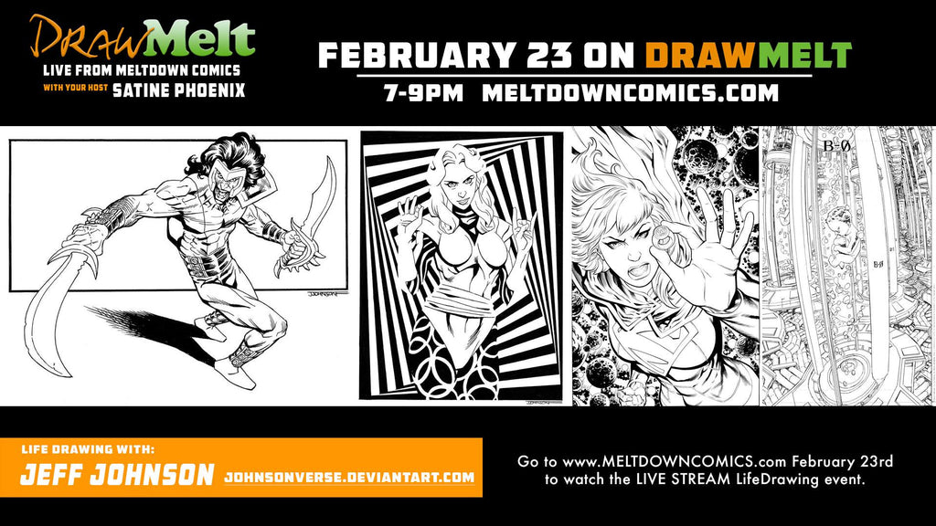 DRAWMELT 2/23/16 (Guest: Jeff Johnson) - 04 - XSN - Your Shopping Network - 2