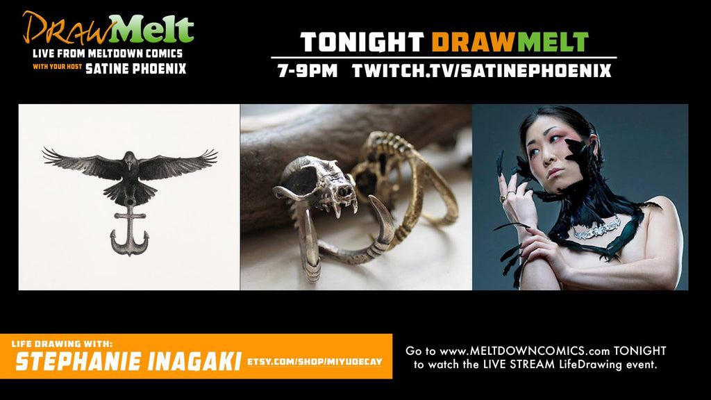 DRAWMELT 5/3/16 (GUEST: Stephanie Inagaki) - 02 - XSN - Your Shopping Network - 3