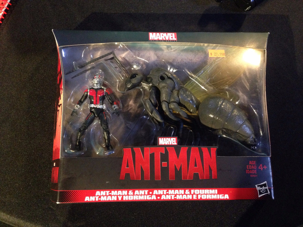 Ant-Man & Ant Action Figures (Marvel Infinite Series) - XSN - Your Shopping Network