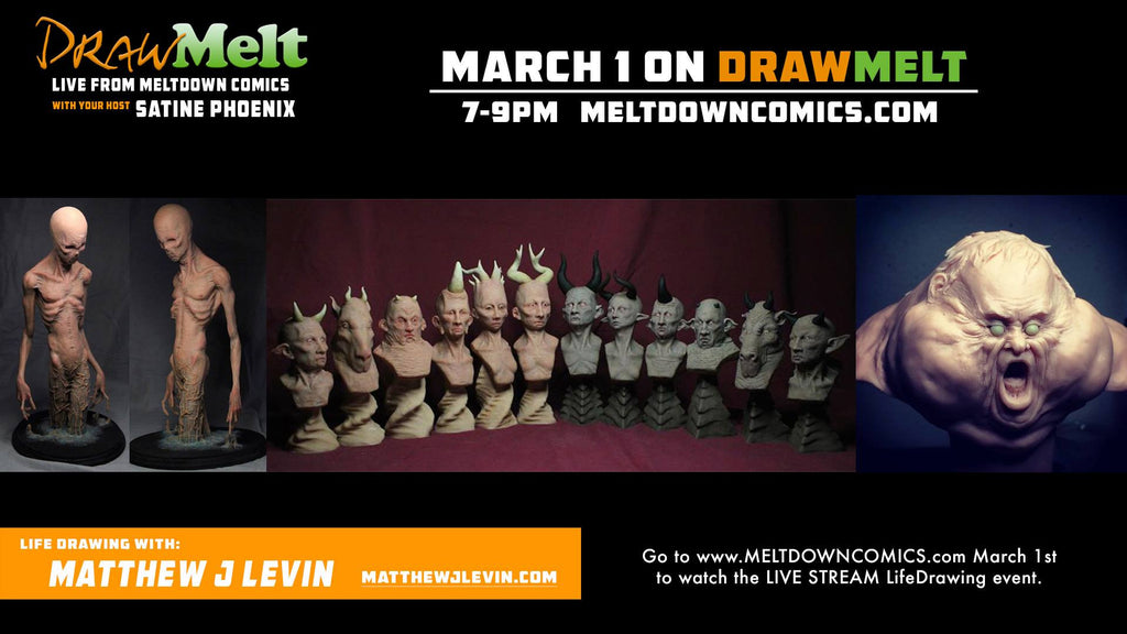DRAWMELT 3/01/16 (Guest: Matthew J Levin) - 01 - XSN - Your Shopping Network - 2