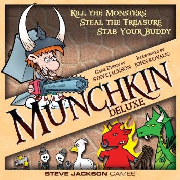 Munchkin Deluxe - Board Game - XSN - Your Shopping Network