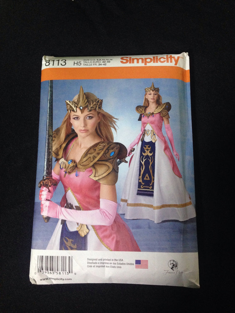 Elven Princess Pattern Simplicity #8113 - XSN - Your Shopping Network - 1