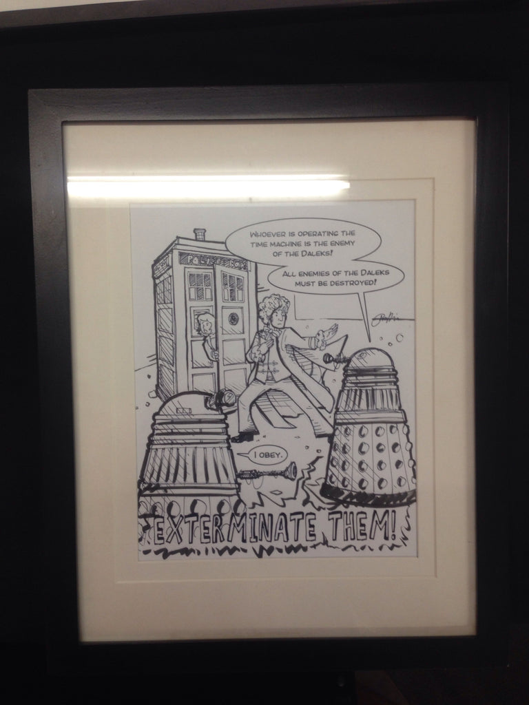 Doctor Who Art Piece - One of a Kind - XSN - Your Shopping Network