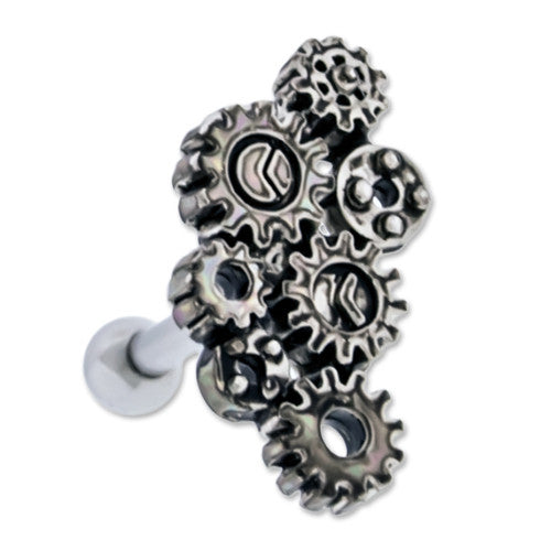Steampunk Style post for Ear / Cartilage / Tragus - XSN - Your Shopping Network - 2