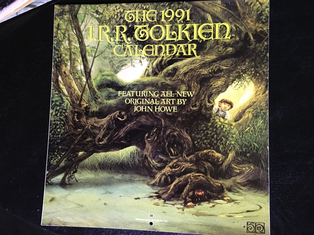 1991 Tolkien Calendar - XSN - Your Shopping Network