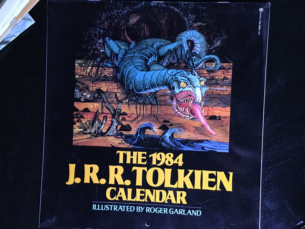 1984 Tolkien Calendar - XSN - Your Shopping Network