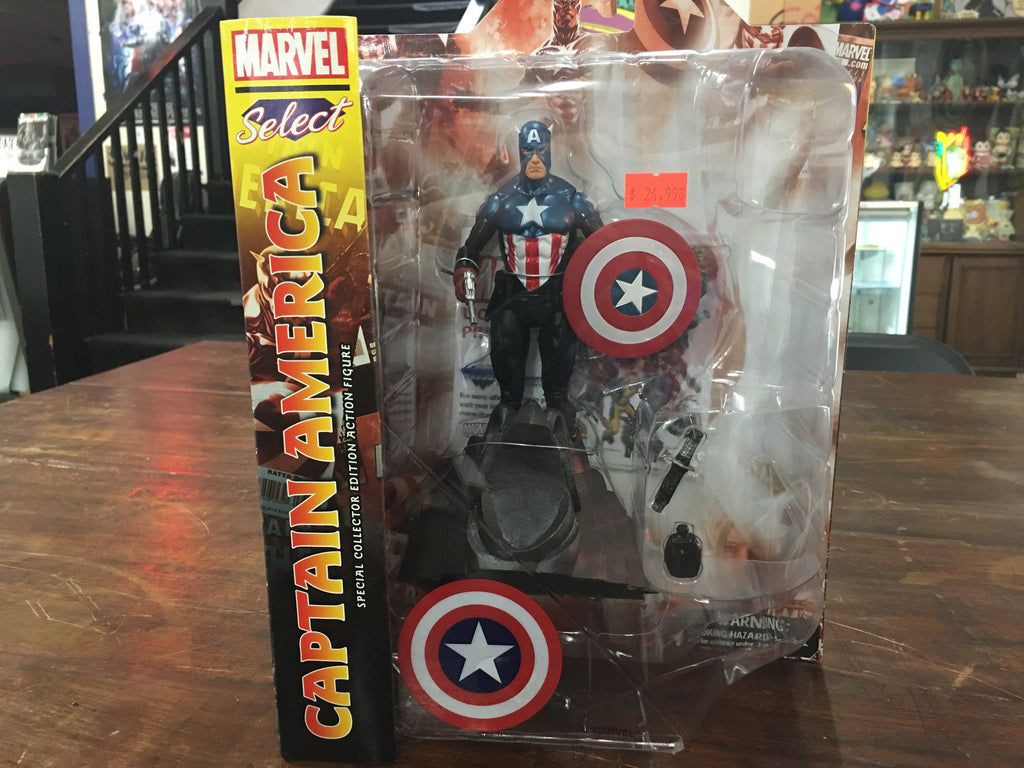 Marvel Select Captain America Special Collection Edition Action Figure - XSN - Your Shopping Network